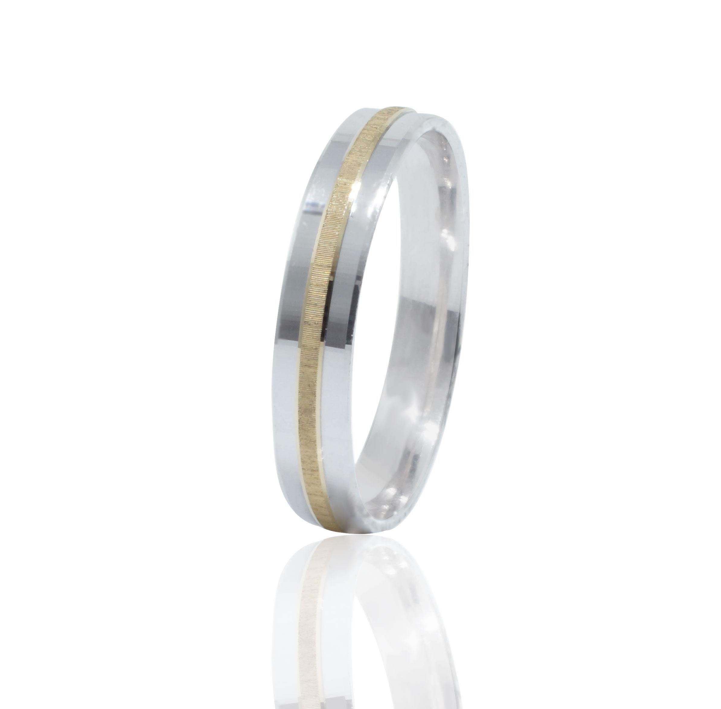 Argolla de Matrimonio Modelo Alessandra 4MM - Anelli 4150209ea0a